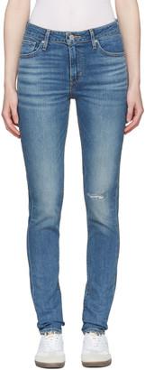 Levi's Blue 721 Jeans $90 thestylecure.com