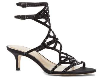 Vince Camuto Imagine Kimbar – Embellished Kitten-heel Sandal