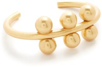 Madewell Chunky Ball Cuff Bracelet $32 thestylecure.com