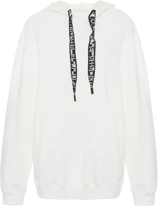 Proenza Schouler PSWL Cotton-Jersey Hooded Sweatshirt