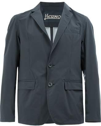 Herno crinkle casual blazer