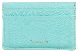 53ab6199d5 Tiffany & Co. Embossed Leather Cardholder
