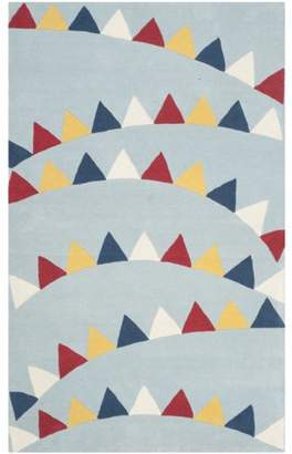 Martha Stewart Party Time Geometric Triangles Area Rug