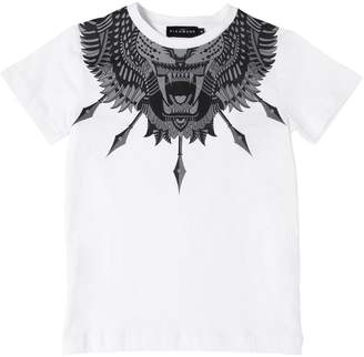 John Richmond Tiger Print Cotton Jersey T-Shirt