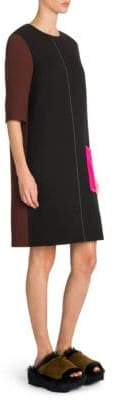 Marni Colorblock Shift Dress