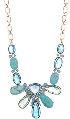 Carolee Ombré Stone Necklace, 18""