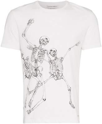 Alexander McQueen skeleton graphic print T-shirt