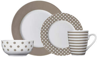 Pfaltzgraff Everyday Kenna 16 Piece Dinnerware Set, Service for 4