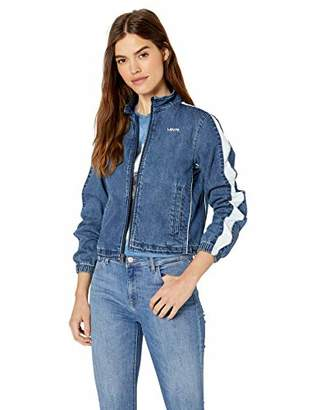 Levi's Women's Lightweight Denim Coaches Track Jacket