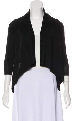 Herve Leger Long Sleeve Open Front Cardigan