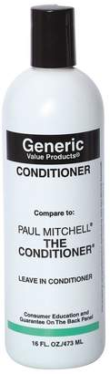 Paul Mitchell Generic Value Products Conditioner Compare to The Conditioner