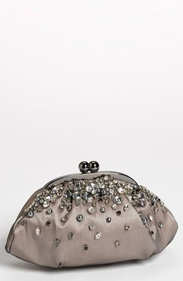 Menbur 'Vintage Bride' Clutch - Black $100 thestylecure.com