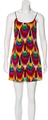 Alice + Olivia Printed Slip Dress