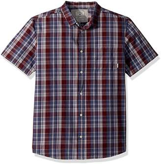 Quiksilver Men's Everyday Check Short Sleeve