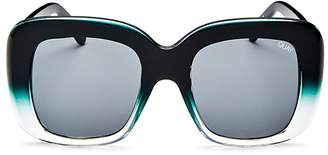 Quay Day After Day Square Sunglasses, 62mm