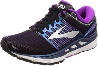 Brooks Women's Transcend 5 Running Shoe (BRK-120263 1B 39345A0 9.5 BLU/PNK/WHT)