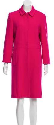 Valentino Collared Knee-Length Coat