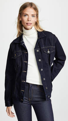 Current/Elliott The Corset Trucker Jacket