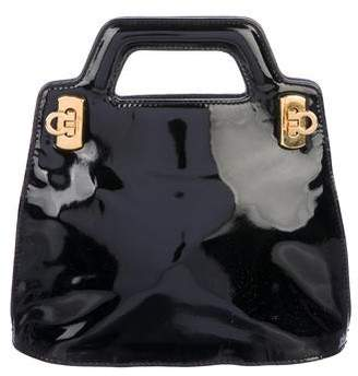 Salvatore Ferragamo Patent Leather Mini Bag