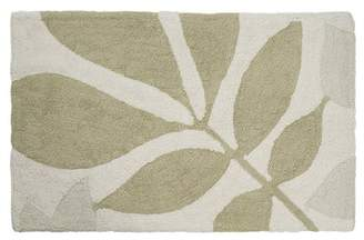 Creative Bath Neutrals Shadow Leaves Rug