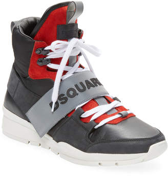 DSQUARED2 Kari High-Top Sneaker