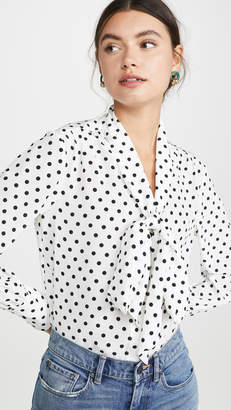Jason Wu Polka Dot Blouse