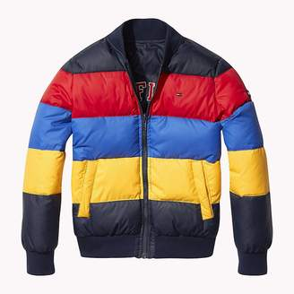 Tommy Hilfiger Reversible Colour-Blocked Puffer Jacket