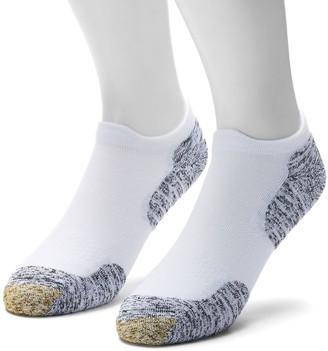 Gold Toe Goldtoe Men's GOLDTOE 2-pack Sta-Cool XS Double Eagle Tab No-Show Socks