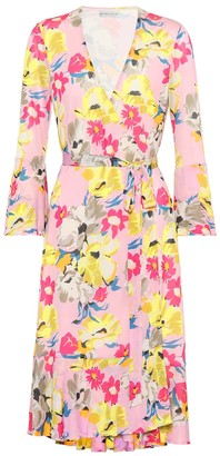 Etro Floral-printed wrap dress