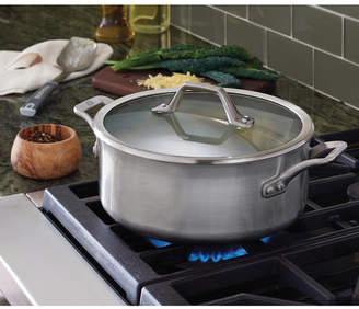 Calphalon Signature Stainless Steel 5 Qt. Dutch Oven with Cover