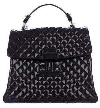 Pre Owned At Therealreal Chanel Glazed Calfskin Quilted Mademoie Kelly Flap Bag