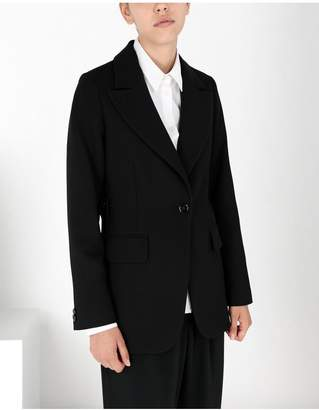 Maison Margiela Wool Tailored Jacket With Tabs
