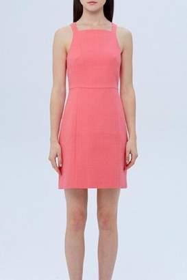 4.collective Basketweave Square-Neck Dress