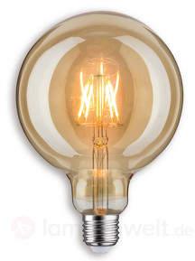 E27 817 LED-Globelampe G125 in gold