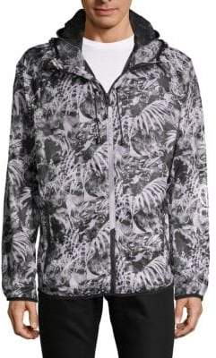 Body Glove Printed Hooded Jacket