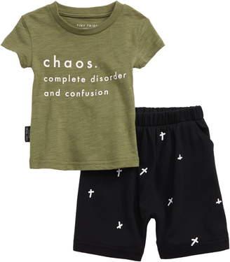 Chaos Tiny Tribe Graphic T-Shirt & Shorts Set