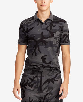 Polo Ralph Lauren Men Big & Tall Classic Fit Camouflage Mesh Polo