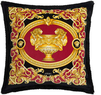 Versace Le Vase Baroque Velvet Cushion