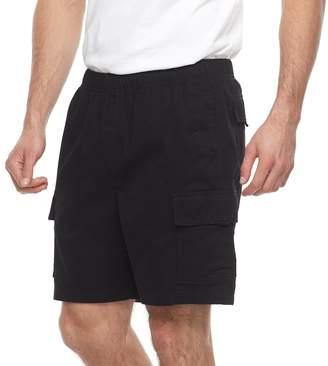 Croft & Barrow Big & Tall Regular-Fit Twill Elastic Cargo Shorts