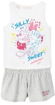 MANGO Mickey Mouse short pyjama