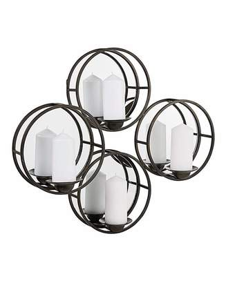 Speedo Black Mirror Wall Mounted Candle Holder