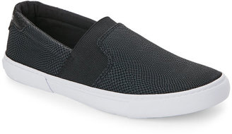 g by guess Black Cruise Slip On Sneakers $59 thestylecure.com