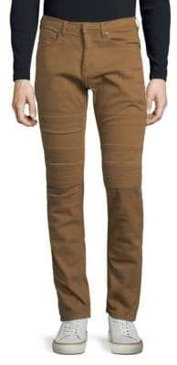Neil Barrett Rib Paneled Jeans