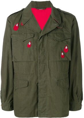 afd92eb50 Gucci Mens Military Jackets - ShopStyle