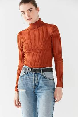 Urban Outfitters Basic Leather Belt
