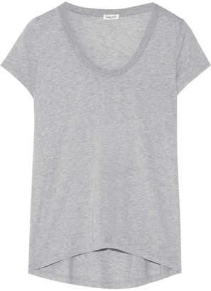 Splendid Cotton And Modal-blend Jersey T-shirt - Gray