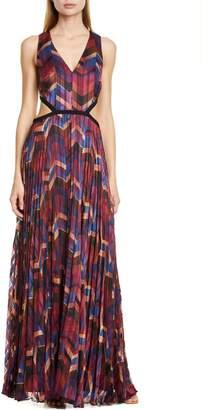 BA&SH Pia Pleated Maxi Dress