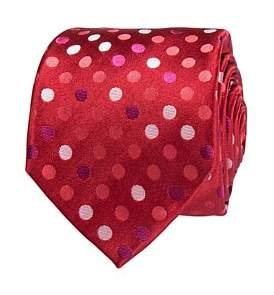Geoffrey Beene Multi Coloured Spot Tie