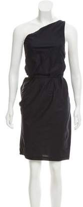 Boy By Band Of Outsiders Sleeveless One-Shoulder Dress