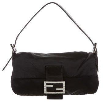 Fendi Satin Baguette Bag